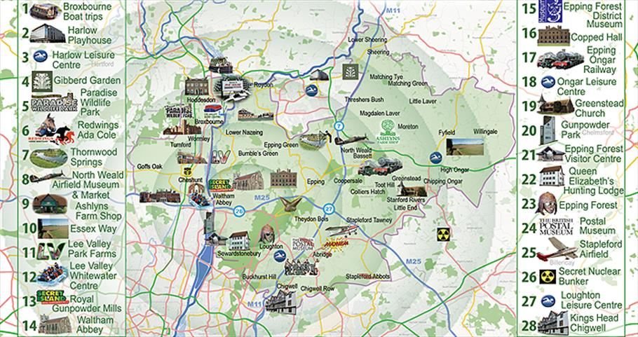 Epping Forest Map 10 Great reasons to visit   Epping Forest