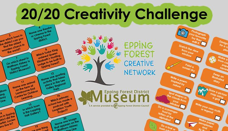 20/20 Creativity Challenge by the Epping Forest Creative Network.