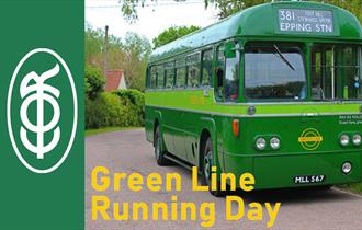 Epping Ongar Railway Green Line Running Day bus rally.