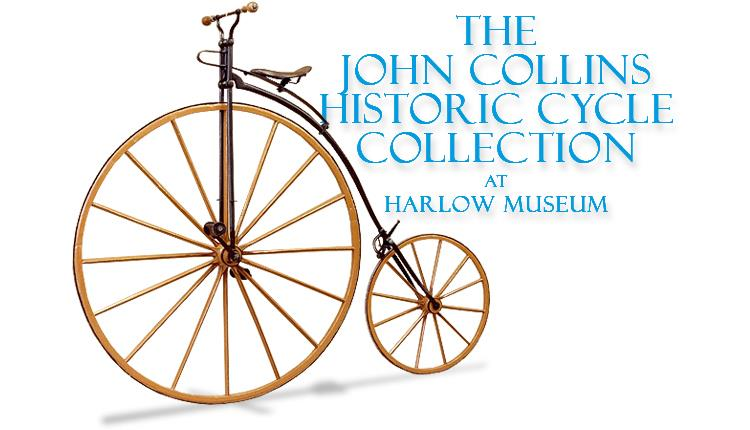 The John Collins Historic Cycle Collection at Harlow Museum