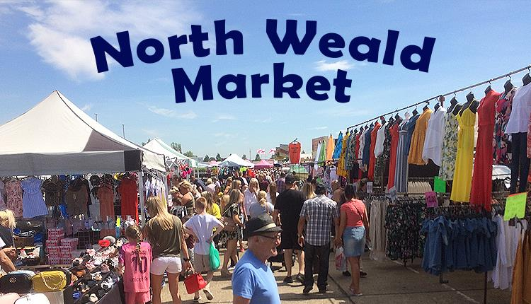 North Weald Market at North Weald Airfield