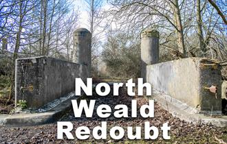 Entrance to North Weald Redoubt.