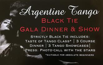 Tango Extravaganza dinner and show at the Waltham Abbey Marriott Hotel