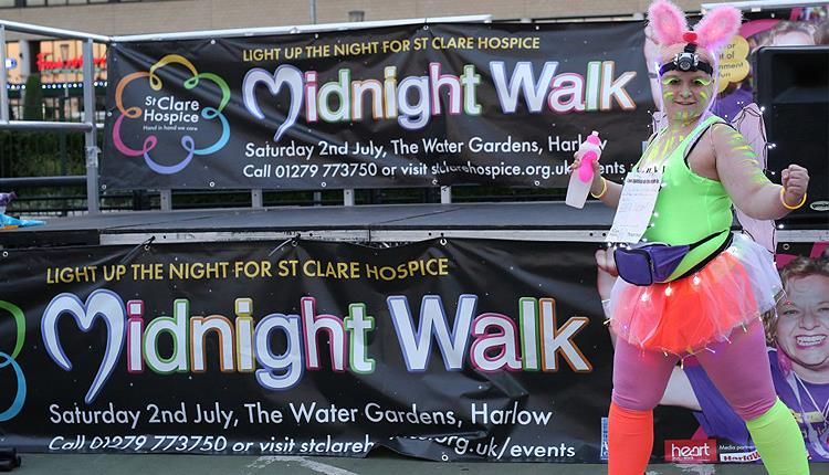 St Clare Hospice Midnight Walk - Participatory Event in