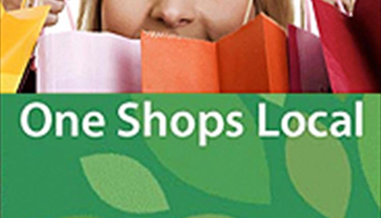 One Shops Local - shop local and everyone benefits.