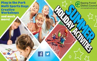 Summer Holiday activities across the Epping Forest District 2018
