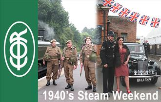 1940s Weekend of Steam at Epping Ongar Railway