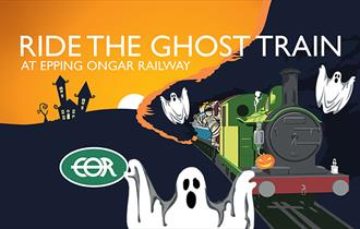 Dare you ride the Ghost Train at Epping Ongar Railway?
