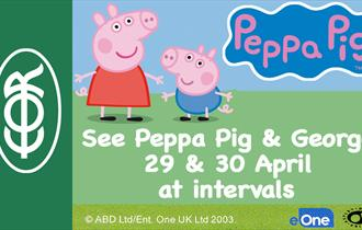 Peppa Pig and George at EOR