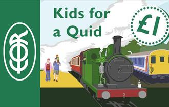 Kids for a Quid on the Epping Ongar Railway.