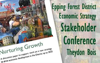 Epping Forest District Council's Economic Strategy Stakeholder Conference at Theydon Bois Village Hall