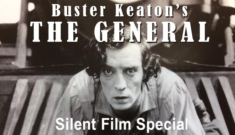 Buster Keaton's The General at St John's Church Epping.