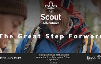 The Great Step Forward, a challenge celebrating 100 years of scouting.