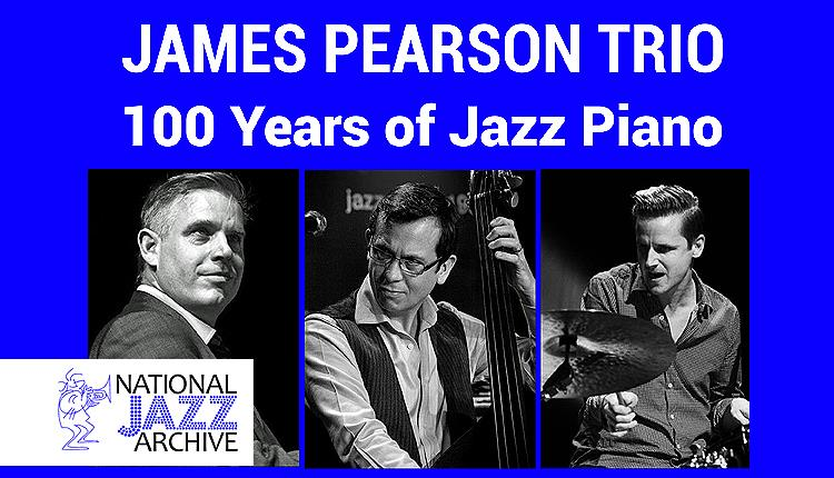 The James Pearson Trio plays in support of the National Jazz Archive in Loughton.