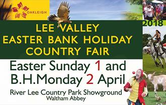 Lee Valley 2018 Easter Country Fair, Waltham Abbey.