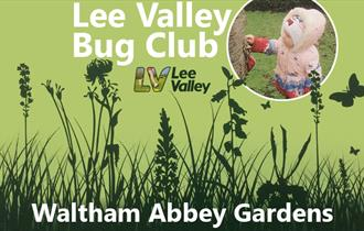 Lee Valley Bug Club for pre-schoolers at Waltham Abbey Gardens.