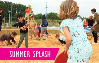 Summer Splash at The Beach, Lee Valley White Water Centre.
