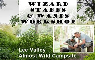Almost Wild Campsite Wizards Staffs and Wands Workshop