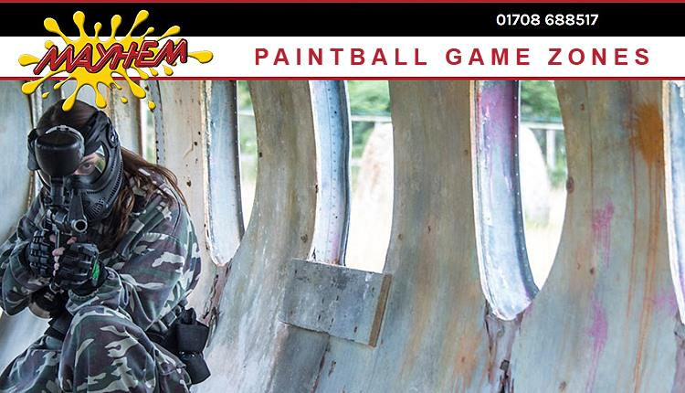 Mayhem paintball site, Abridge.