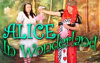 Alice in Wonderland. A play for 5 to 9 year olds at North Weald Village Hall.