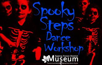 Spooky Steps Dance Workshop at Epping Forest District Museum.