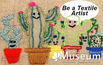 Learn how to be a textile artist