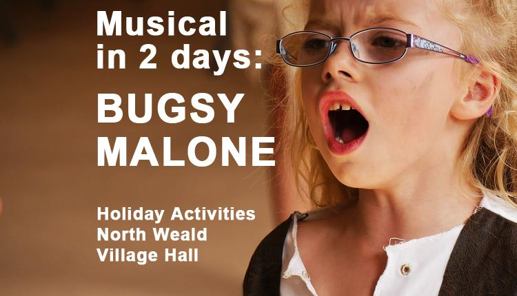 Bugsy Malone in 2 days - a musical workshop for kids.