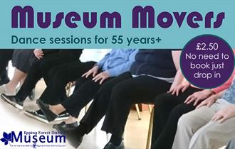 Museum Movers - dance sessions for 55 years plus.