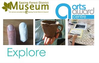 Work with a professional artist to create your own artwork at Epping Forest District Museum.