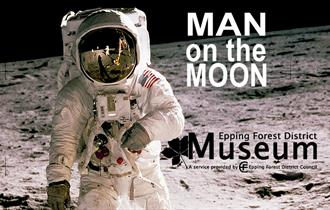 Man on the Moon. An exhibition at Epping Forest District Museum.