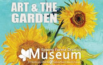 Fun in the Epping Forest District Museum garden drawing plants from life.