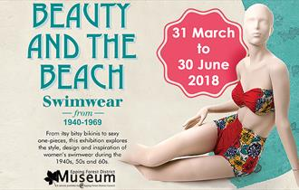 Swimwear exhibition at the Epping Forest District Museum