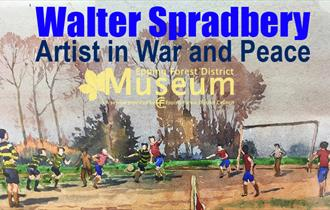 Walter Spradbery, an artist in war and peace