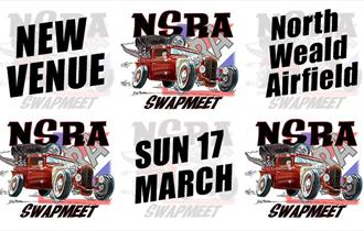 NSRA Southern Swapmeet at North Weald Airfield 17 March 2019