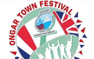 Logo for Ongar Town Festival 2018 - enlarged