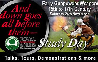 Early Gunpowder Weapons Study Day at the Royal Gunpowder Mills Waltham Abbey.
