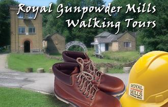 Bespoke walking tours of the Royal Gunpowder Mils, Waltham Abbey.