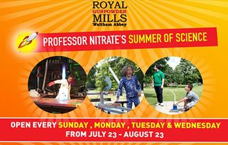 Summer of Science at the Royal Gunpowder Mills, Waltham Abbey.