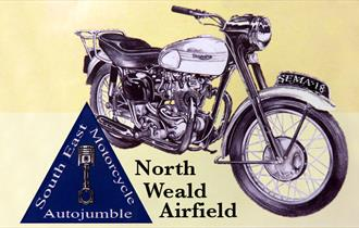 South East Motorcycle Autojumble at North Weald Airfield