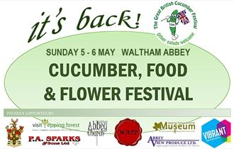 It's Back. The Waltham Abbey Cucumber Festival.