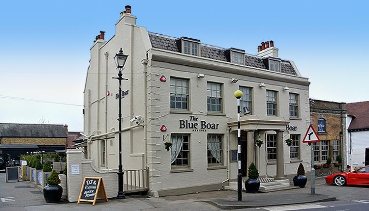 The Blue Boar Hotel Abridge.