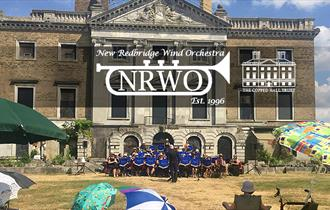 New Redbridge Wind Orchestra play Summer Music at Copped Hall