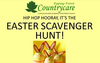 Countrycare Easter Hunt in Home Mead, Loughton