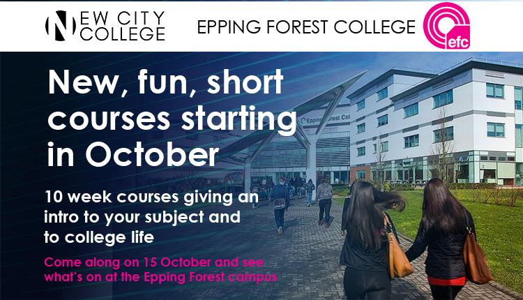 New, Fun October Short Courses