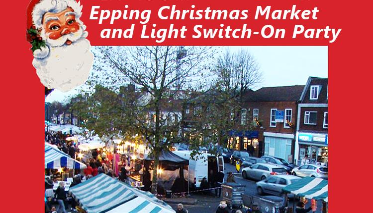 Epping Christmas Market and lights switch-on