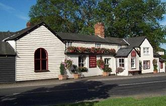 The 18th century Fox Inn at Matching Tye.