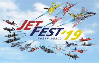 Jet Fest at North Weald on the 27 - 29 September 2019