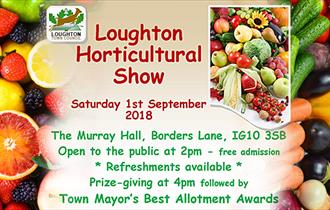 Loughton Horticultural Show 2018 - Murray Hall