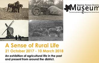 A Sense of Rural Life graphic from Epping Forest District Museum