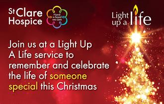 St Clare Hospice Light up a Life events 2017